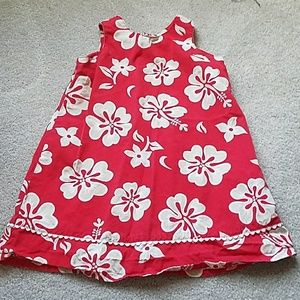 Little Girls Hawaiian Dress from Lands End